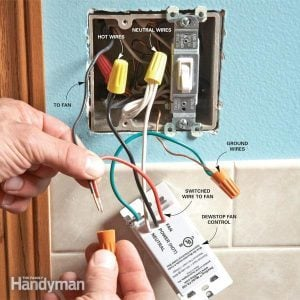 Prevent Mold with the DewStop Bathroom Fan Switch