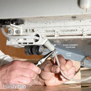 How to Fix a Leaky Refrigerator Water Dispenser