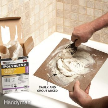 How To Grout Tile Grouting Tips And Techniques The Family Handyman
