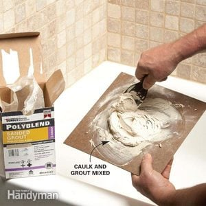 Matching Grout Colors and Caulk Colors
