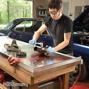 Upgrading Your Garage Workshop