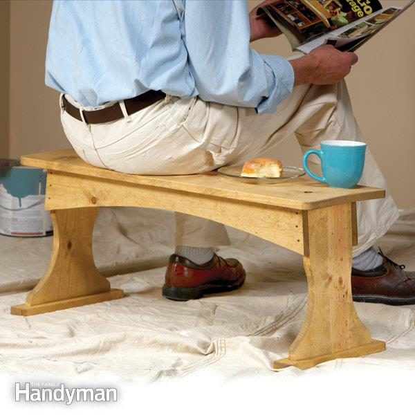 Build A Painting Bench The Family Handyman
