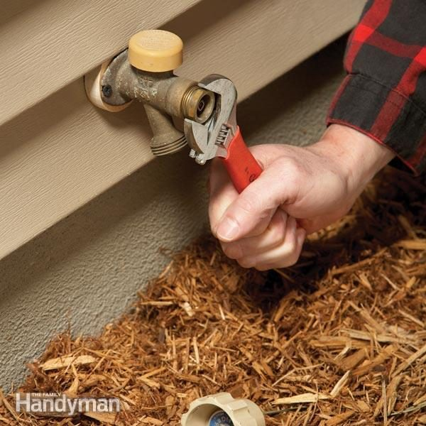 Outdoor Faucet Repair: Fix a Noisy Faucet | Family Handyman