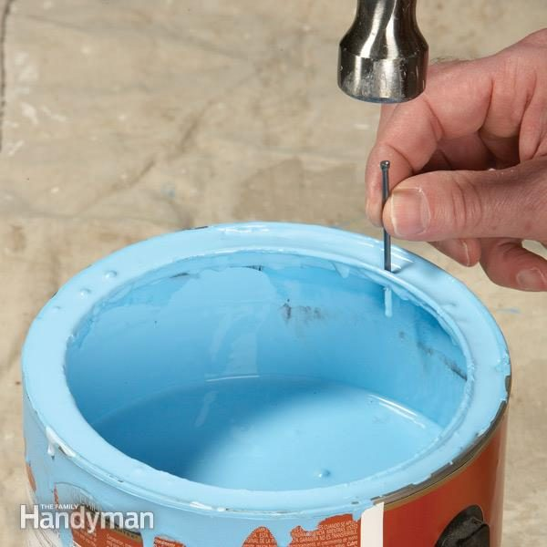 how to store paint