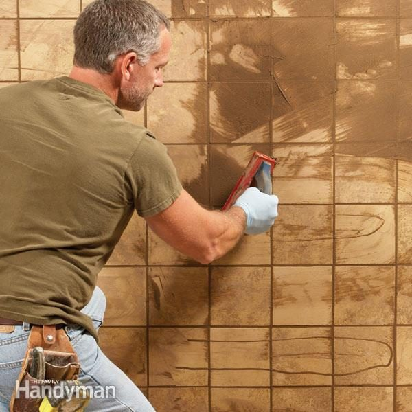 How To Repair Grout That S Cracking The Family Handyman