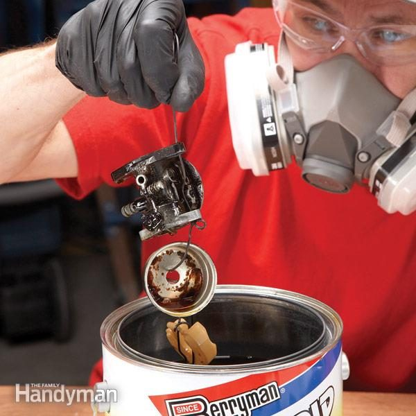 How To Repair Small Engines Cleaning The Carburetor The