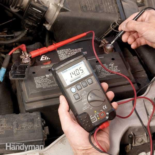 how to check alternator