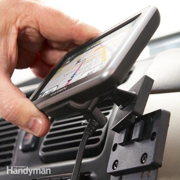 How To Install A Car Mount Dashboard Device Holder The