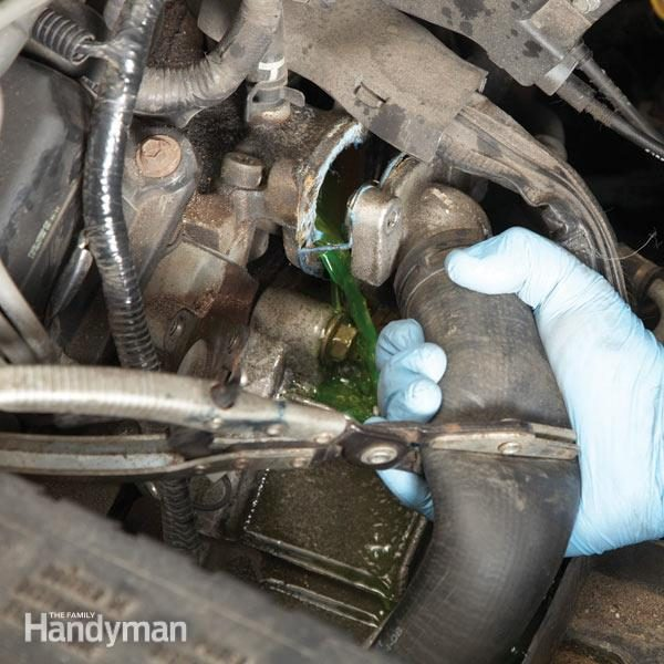 Car Care How To Change A Thermostat The Family Handyman