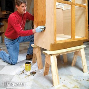 How to Build Small Sawhorses