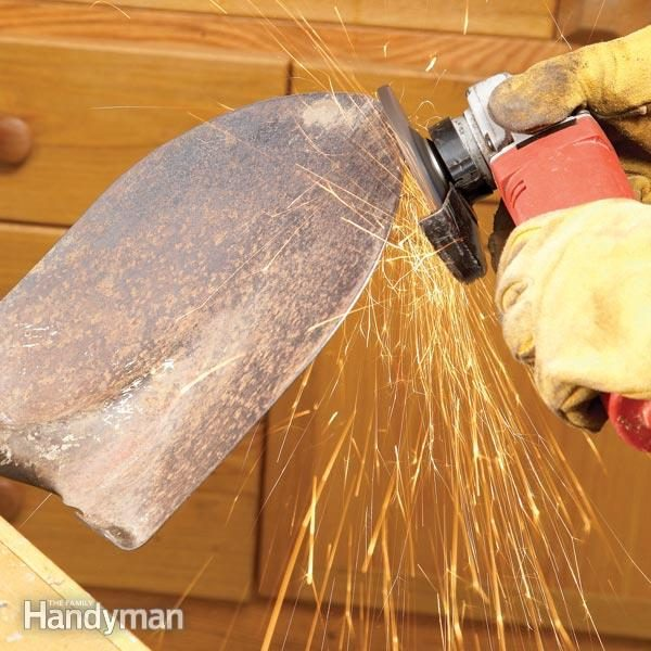 Sharpening How To Sharpen A Shovel