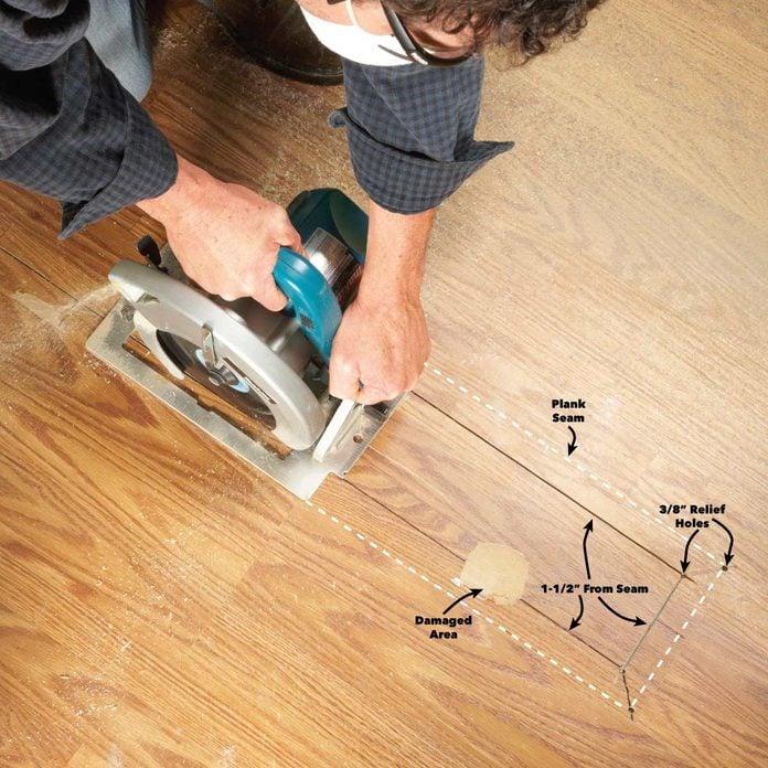 Laminate Floor Repair Diy Family, Snap Laminate Flooring