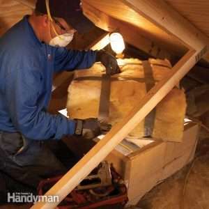 How to Insulate an Attic Door