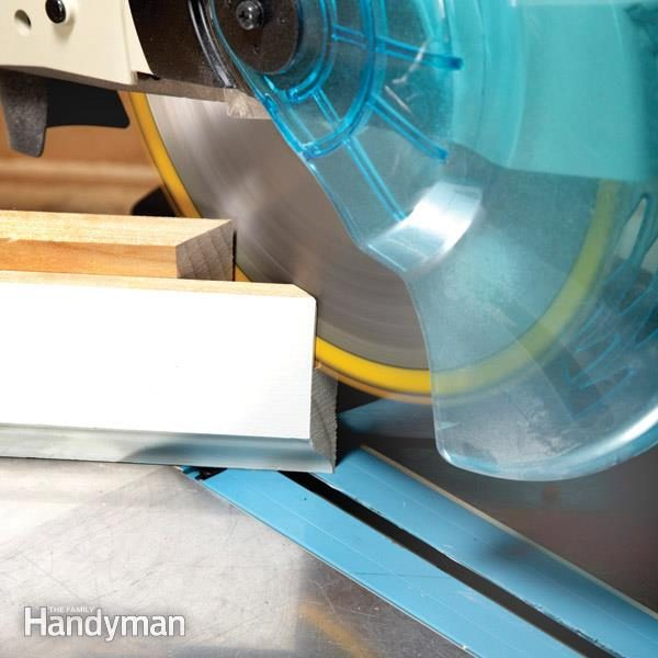 How To Cope Baseboard Trim With A Miter Saw The Family