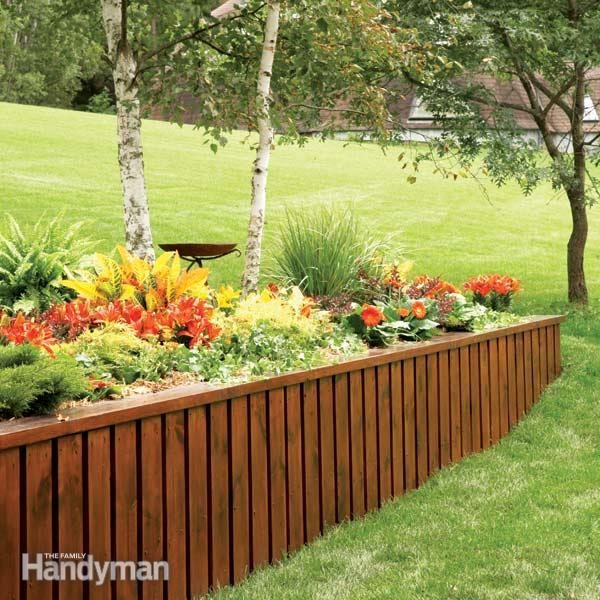 How to Build a Retaining Wall | Family Handyman