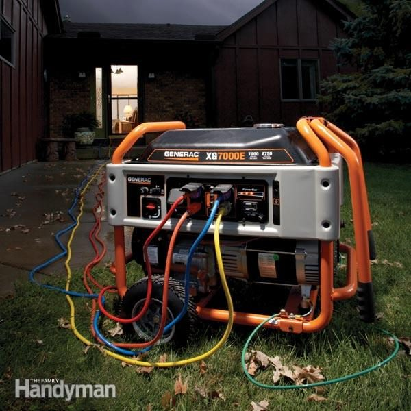 Generator Maintenance Tips The Family Handyman