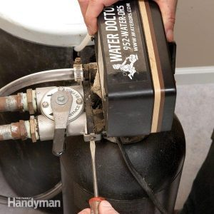 Replace a Water Softener Resin Bed