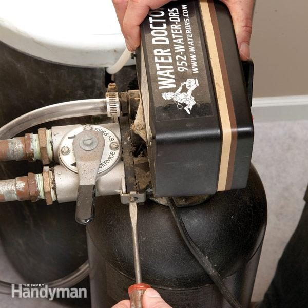 Replace A Water Softener Resin Bed The Family Handyman
