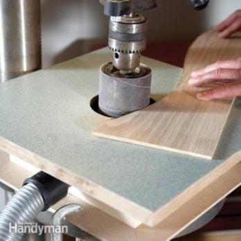 Building a Drum Sander Table