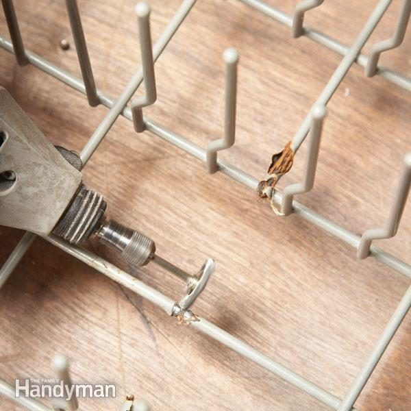 Dishwasher Repair Fix A Dishwasher Rack The Family Handyman