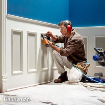 Weekend Wainscoting