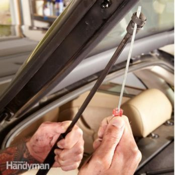 Replace the Gas Lift on Your Car's Hood