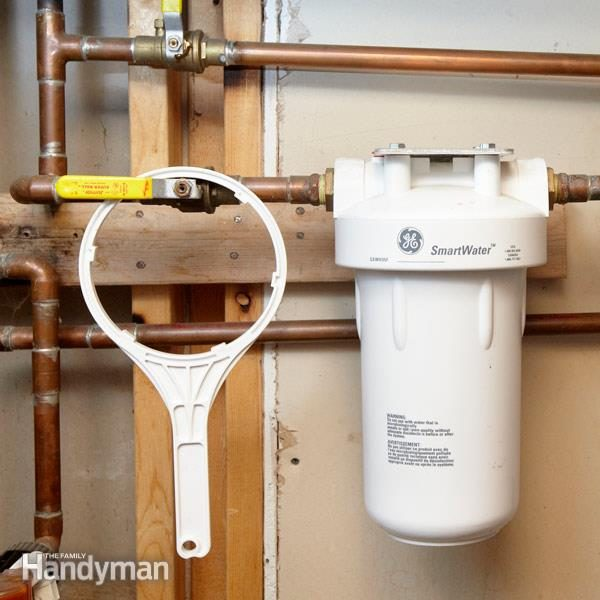 Remove Water Sediment With A Whole Home Water Filter The