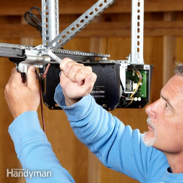 How To Rebuild A Garage Door Opener The Family Handyman