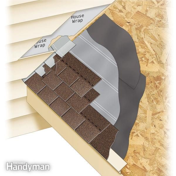 roofing how to install step flashing family handyman