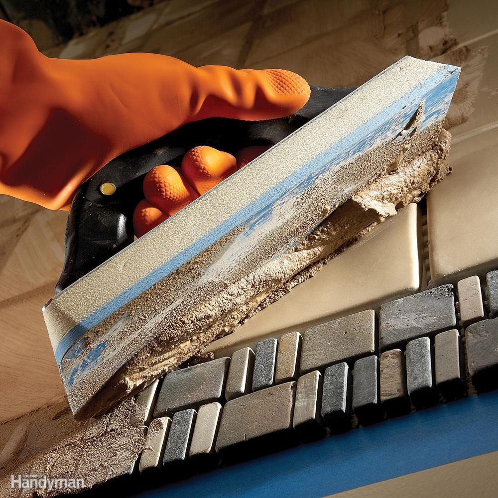 Tile installation how to tile over existing tile family handyman tips for installing tile dailygadgetfo Gallery