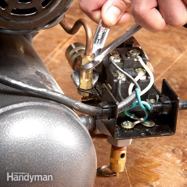 How To Fix An Air Compressor The Family Handyman