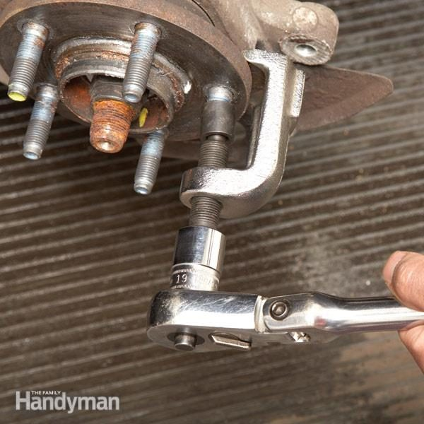 How To Replace A Broken Wheel Stud The Family Handyman