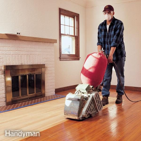 Hardwood Floor Sanding Do It Yourself Tips The Family Handyman