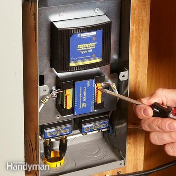 Power Surge: Protect All Your Electronics (DIY) | Family Handyman | Wiring Whole House Surge Protector |  | The Family Handyman