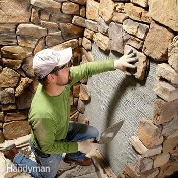 Modern stone veneer installation tips
