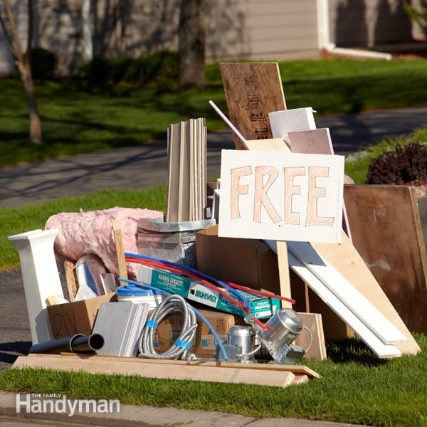 How to Get Rid of Anything | Family Handyman