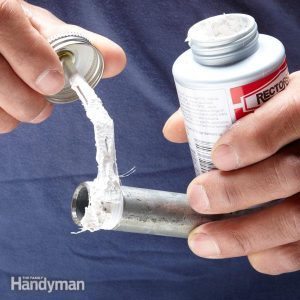 Prevent Leaks With Pipe Dope