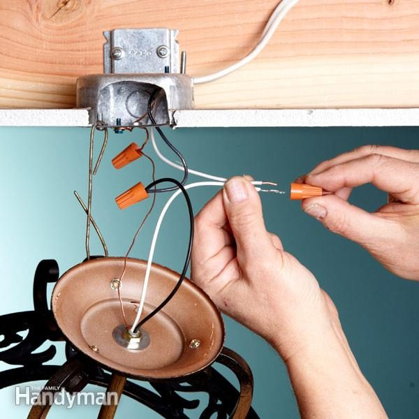 Electrical Tips Replacing A Light Fixture Family Handyman