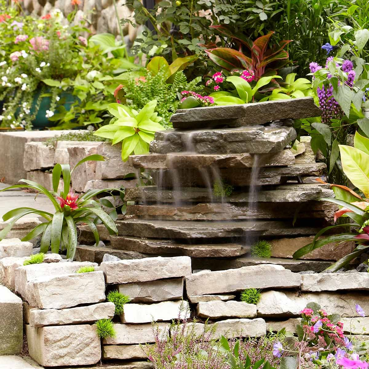 Backyard Waterfall | Family Handyman