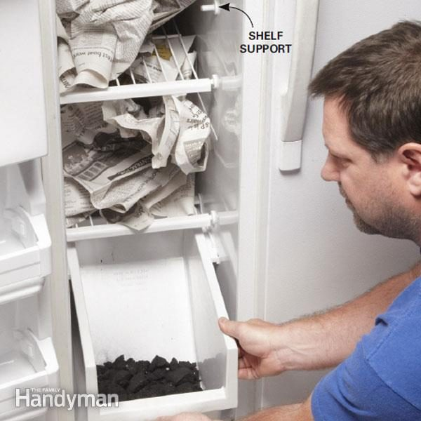 Clean A Stinky Fridge The Family Handyman