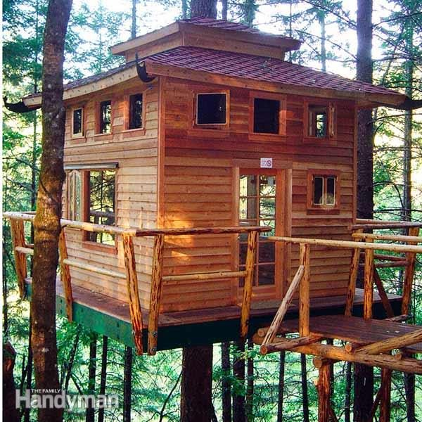 How to build a tree house building tips the family for Tips for building a house on a budget