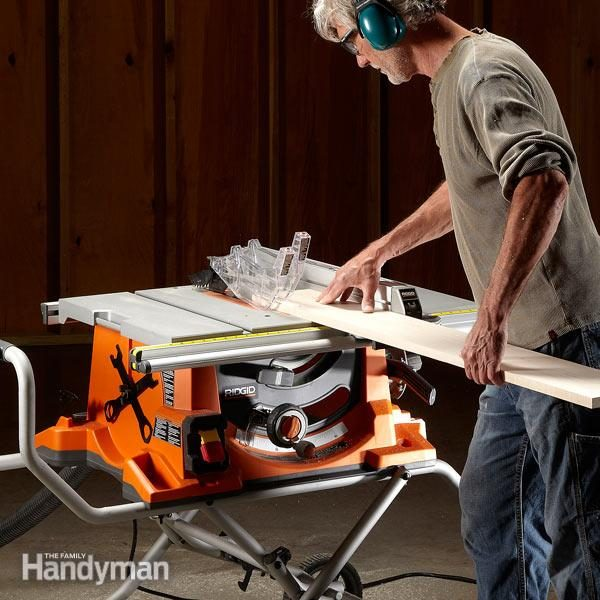 Portable table saw reviews the family handyman fh12novporsaw01 2 best table saw greentooth