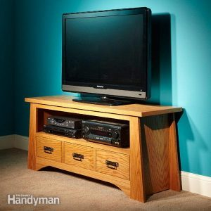 How to Build a Do It Yourself TV Stand