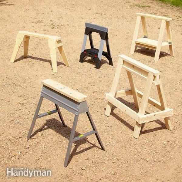 Sawhorse Plans The Family Handyman