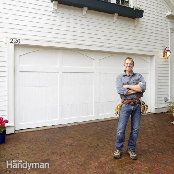 Garage Door Makeover The Family Handyman