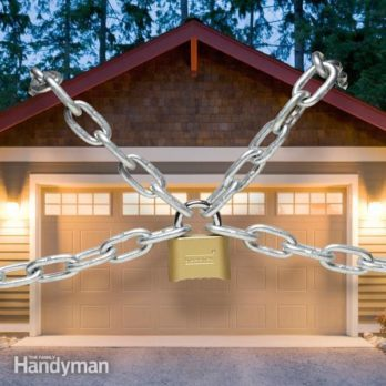 Garage remodel tips the family handyman garage security tips solutioingenieria Images