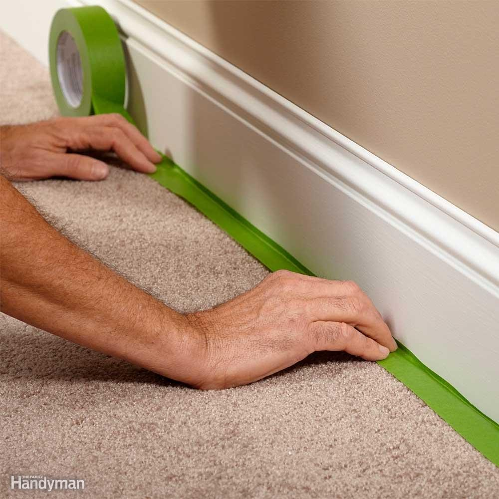painting tips and tricks the family handyman. Black Bedroom Furniture Sets. Home Design Ideas