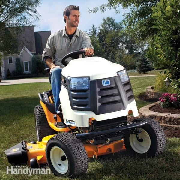 The Best Riding Lawn Mower Reviews The Family Handyman