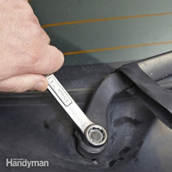 How To Replace Windshield Wiper Arm The Family Handyman
