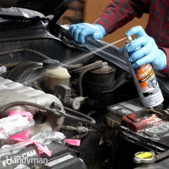 How to Clean an Engine